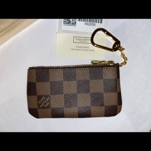 Louis Vuitton Damier Ebene Key Cles Brand New